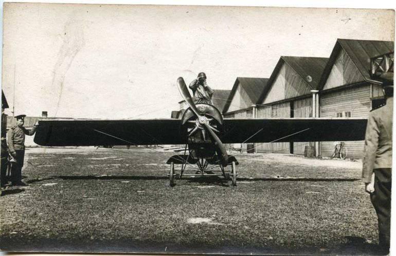 Дореволюционное развитие авиации